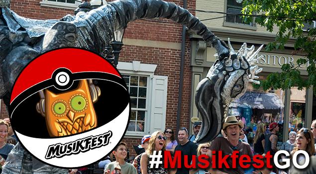 PokemonGO at Musikfest = #MusikfestGO