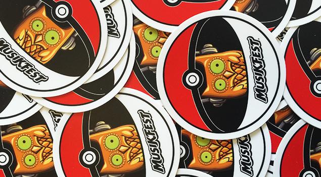 #MusikfestGO Pokemon stickers